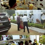 Ex-Prez Kufuor's Wife Celebrates 80th Birthday... Prez Mahama Represented