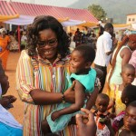 Hon Abigail Elorm Mensah Donates To Widows/Orphans In Her Constituency