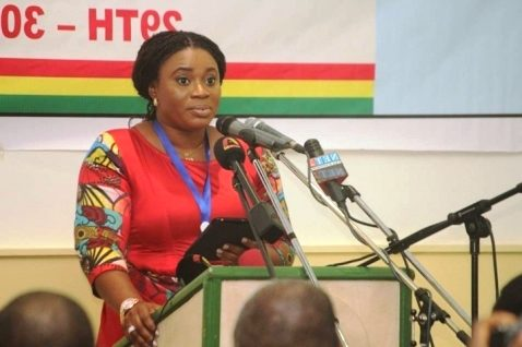 Charlotte Osei, EC Chair