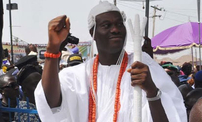 Installation ceremony of Oba Adeyeye Enitan Ogunwusi 51th Ooni of Ife