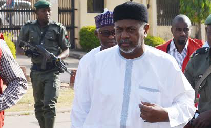 Former National Security Adviser, NSA, to former President Goodluck Jonathan, Col. Sambo Dasuki