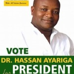Hassan Ayariga's party not registered – EC