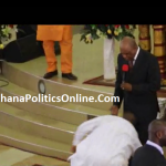 Nana Addo Falls Down Again On Stage - - This Time At Ashaiman ?( Video)
