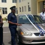 'Hero' taxi driver gets new Toyota Corolla from IGP