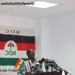 General Mosquito promises NDC return in 2020