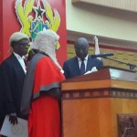Doe Adjaho sworn in as President