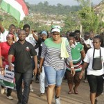 Aspiring NDC'S Fanteakwa MP Ms. Abigail Elorm Mensah Mobilizes Votes Through Health Walk
