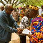President Mahama Inspects Eastern Corridor Road Project