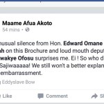 NPP Deputy Communication Director, Maame Afua Akoto killing English language