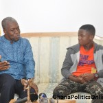 VICE PRESIDENT HOSTS TEENAGE STAR ABRAHAM ATTAH