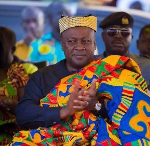 John Mahama king