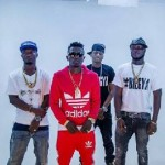 Shatta Wale spotted in fake Adidas hoodie in 'Biegya' video