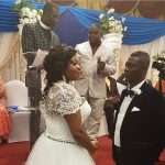 See Agya Koo's white wedding