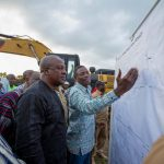 President Mahama Breaks-ground To Start Work On Tamme Irrigation Dam
