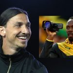 Usain Bolt tells Zlatan 'I'll be watching you'
