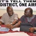Lets Tell Them..... One District - One Airport  -PIC