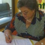 Hanna Tetteh signs Montie 3 petition