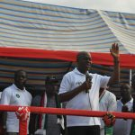 Rousing welcome for Amissah-Arthur at Nkawkaw