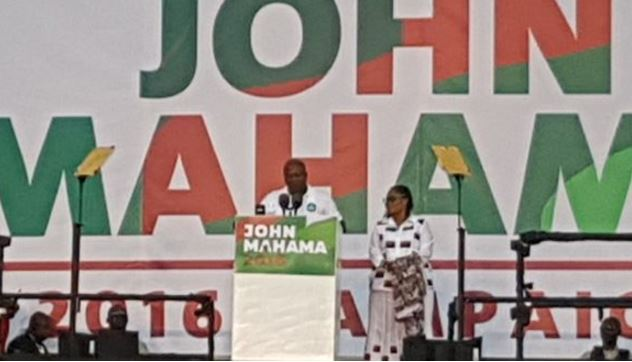 John mahama launch