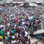 Day 1 of Mahama's Western Region campaign tour (Video)