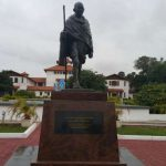 Lecturers demand 'racist' Gandhi statue removed