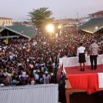 President Mahama describes vote for opposition as endorsing divisiveness (Video)