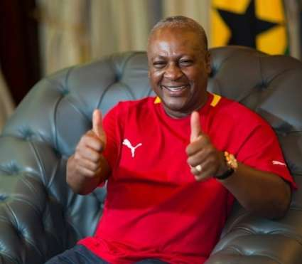 John Mahama sports football