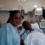 First Lady Lordina Mahama visits Jaga Pee after surgery