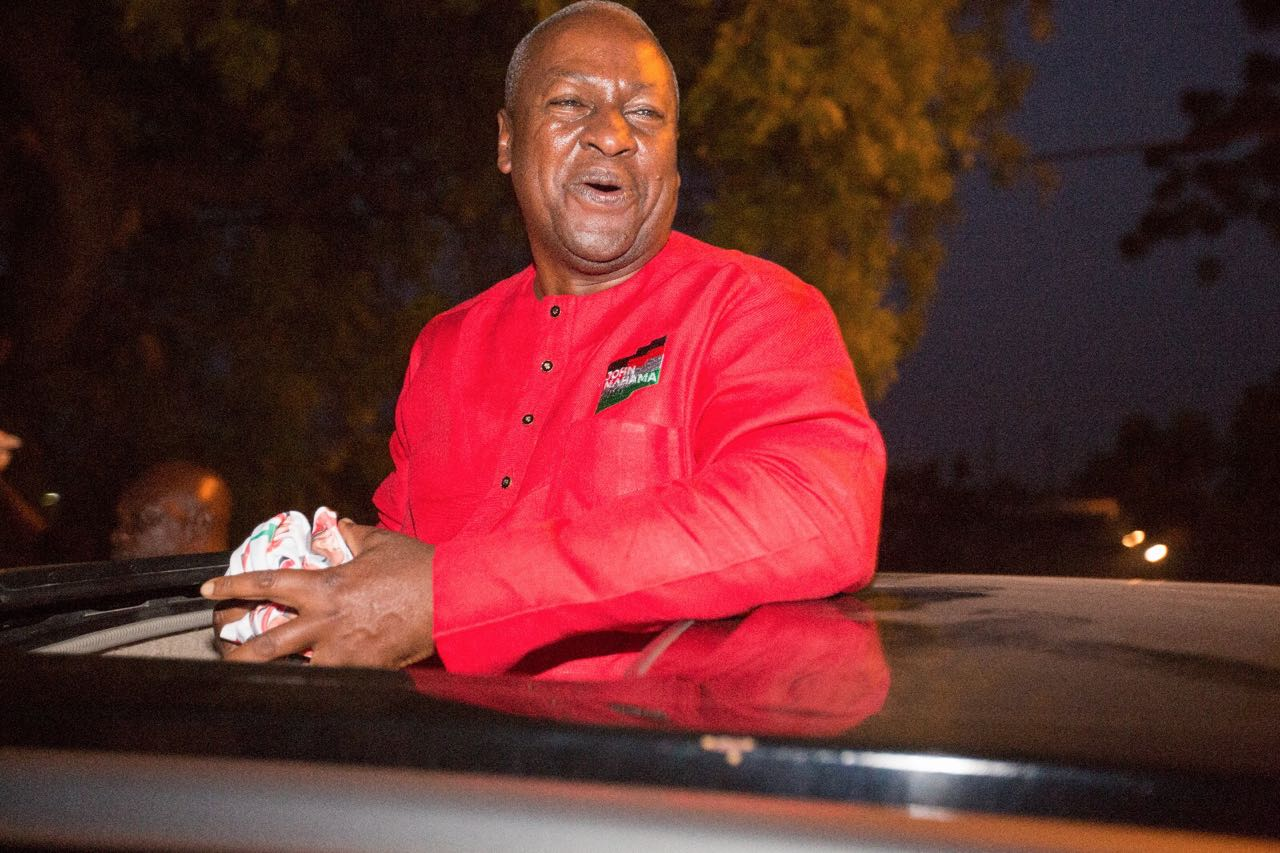 John mahama red