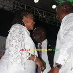 John Mahama and lordina Mahama