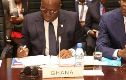 Nana addo Africa submit