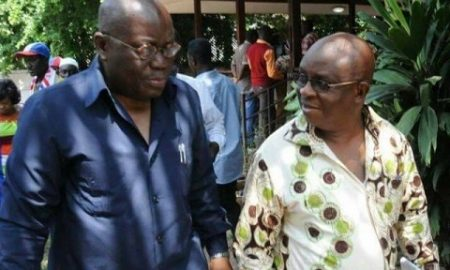 Aki and pawpaw  nana addo