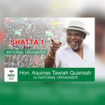 Aquinas Tawiah Quansah to contest for NDC National Organiser position