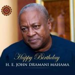 Former President John Dramani Dramani Mahama is 59 years today