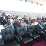 Rawlings,John Mahama 'reunite' at George Oppong Weah's swearing-in ceremony