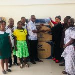 Hon. Betty Krosbi Mensah Donates Air Conditioners to the Presbyterian Hospital in Donkokrom