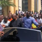 Mahama weeps for dead security guard