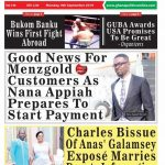 Grab a copy of Ghana Politics Newspaper